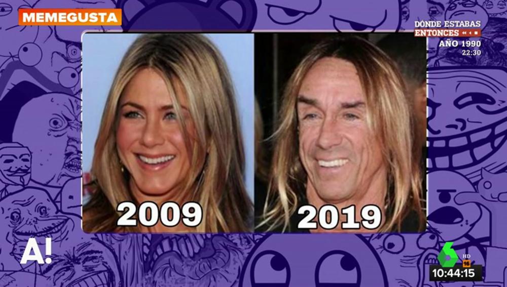 Dibujos, comparaciones entre famosos, memes... los internautas sacan su lado más original con el '10 Years Challenge'