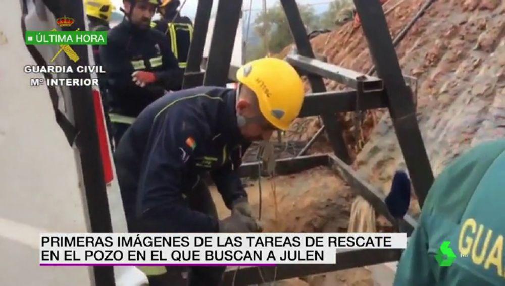 Primeras Imagenes De Las Tareas De Rescate En El Pozo Donde Buscan A