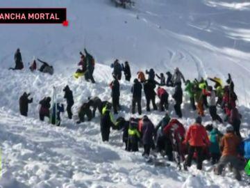 Tragedia en la nieve: un esquiador muetre tras una avalancha en Nuevo México