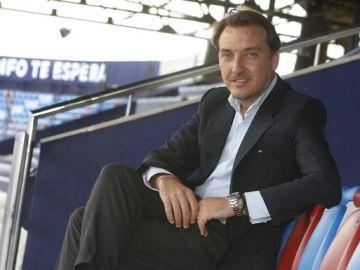 El presidente del Levante, Quico Catalán.