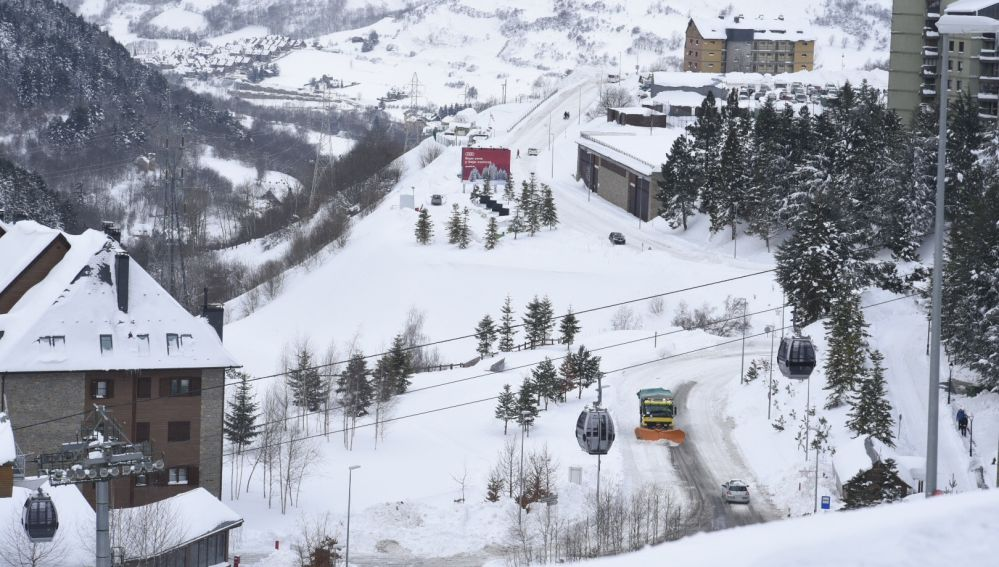 La estación de esquí de Baqueira Beret