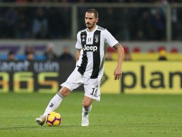 Leonardo Bonucci, en un partido de la Juventus