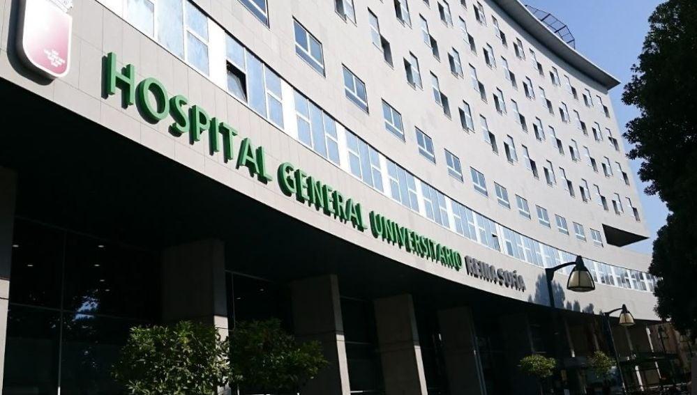 Hospital Reina Sofía, Murcia, donde el doctor pasaba consulta en 2016