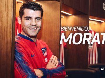 Álvaro Morata, nuevo jugador del Atlético de Madrid
