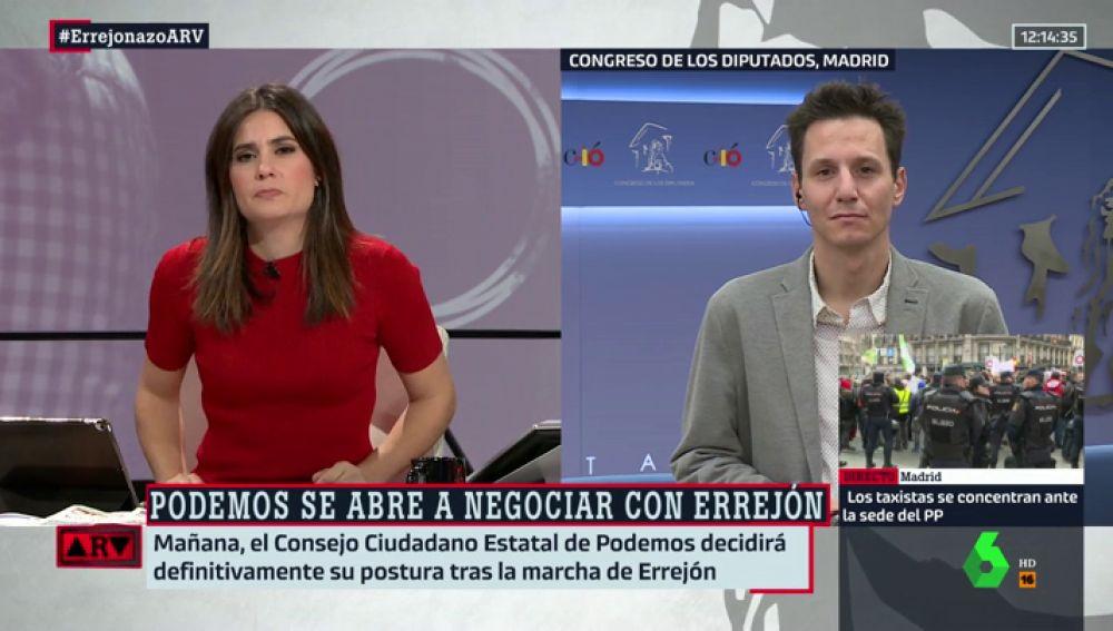 Aitor Riveiro, periodista de eldiario.es