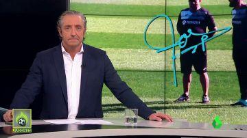 """Josep Pedrerol: """"Bordalás, Marcelino, es muy fácil. Hoy a las 11 y media tras el Valencia-Getafe sabremos quién ha sido el mejor"""""""