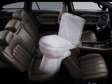El interior del coche, uno de los lugares más sucios