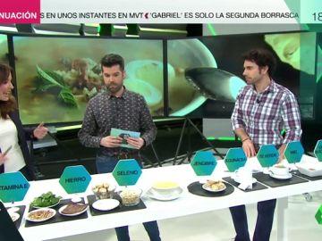 Luis Alberto Zamora nos aconseja qué alimentos comer para evitar la gripe