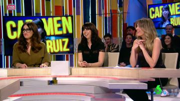 Ana Morgade, Carmen Ruiz y Anna Simon