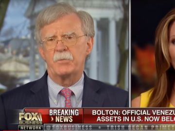 John Bolton, asesor de seguridad de EE.UU en la cadena Fox