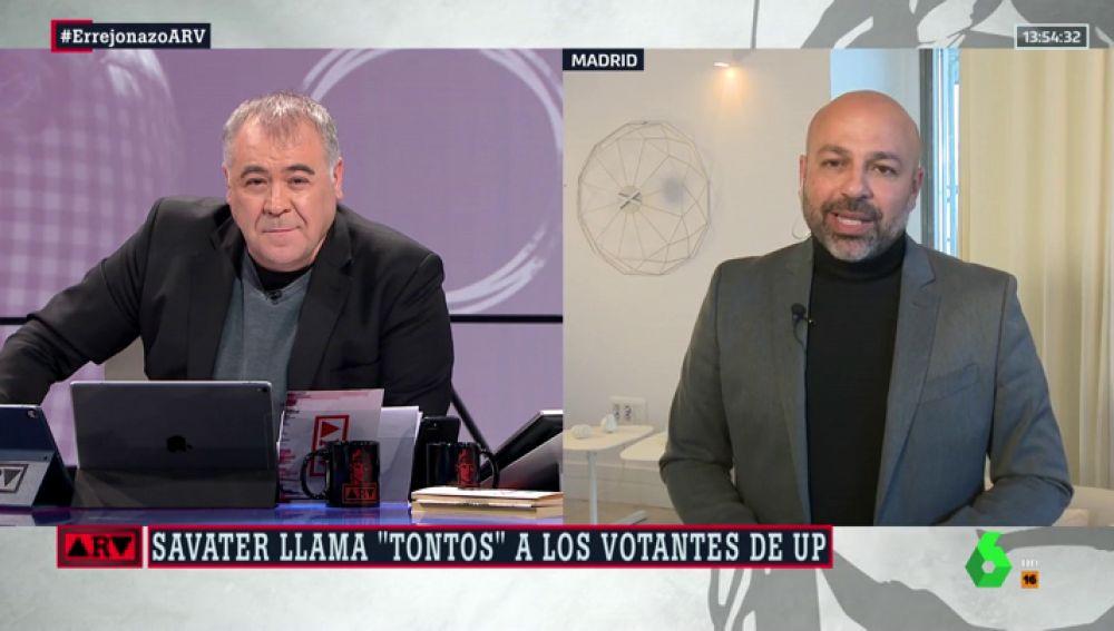 José García Molina, secretario general de Podemos en Castilla-La Mancha