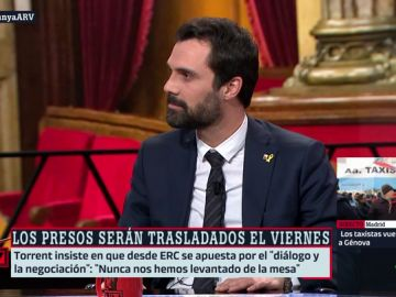 Roger Torrent, presidente del Parlament de Catalunya