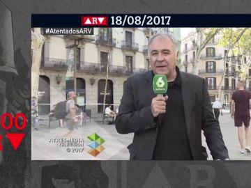 ARV cumple 2.000 programas: así vivimos en directo los atentados de Cataluña