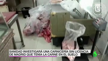 Carnicería ilegal en Madrid