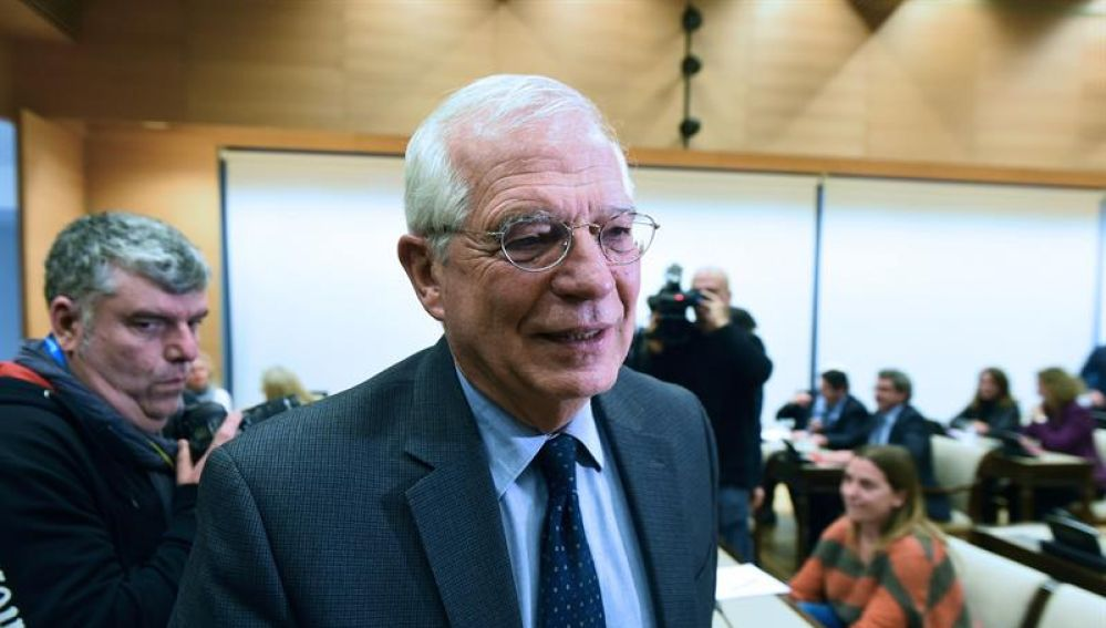 El ministro de Asuntos Exteriores, Josep Borrell