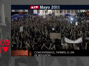 Así vivimos en Al Rojo Vivo el nacimiento del movimiento 15M