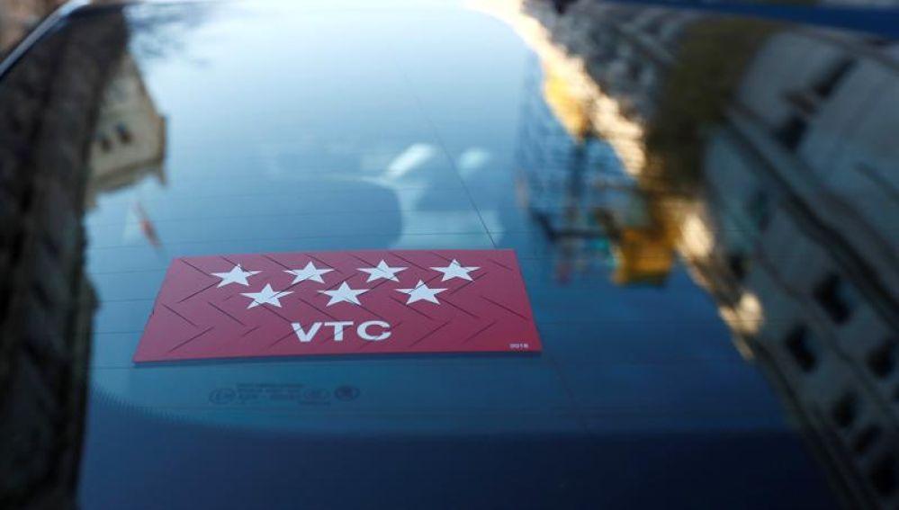 Coche VTC (Archivo)