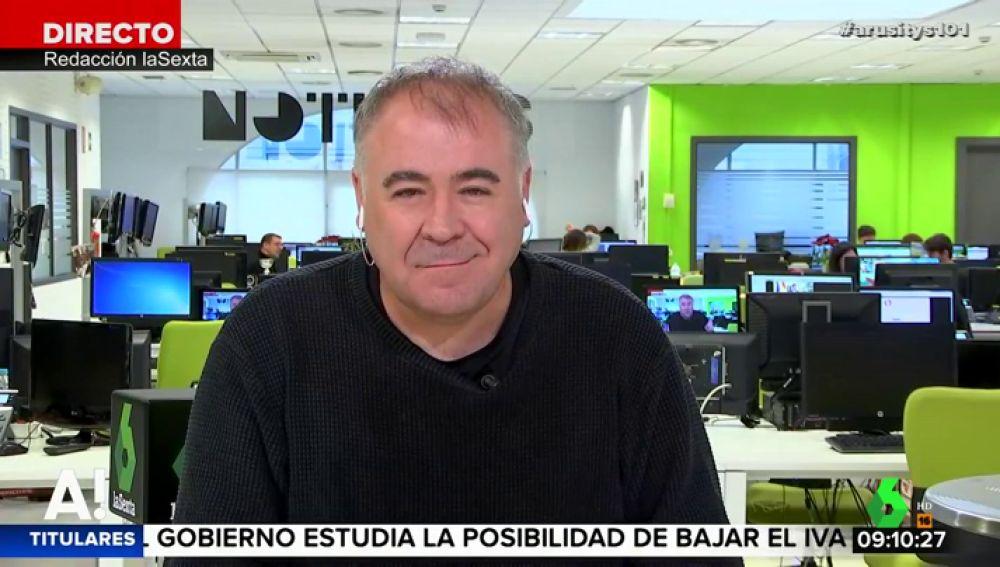 """García Ferreras analiza la candidatura de Pepu Hernández al Ayuntamiento de Madrid: """"La idea de Sánchez era romper con los esquemas clásicos de la política"""""""