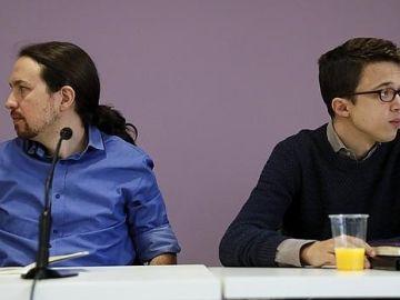 Pablo Iglesias e Íñigo Errejón, en la foto