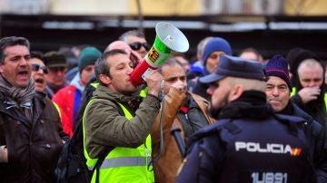 Los taxistas madrileños continuan su cierre patronal iniciado hace diez días