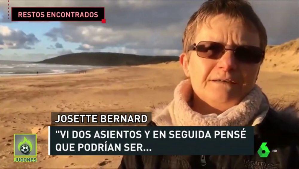 """La mujer que encontró los supuestos restos de avión de Emiliano Sala: """"Al principio, pensé: 'Debe ser un pedazo de bote'"""""""