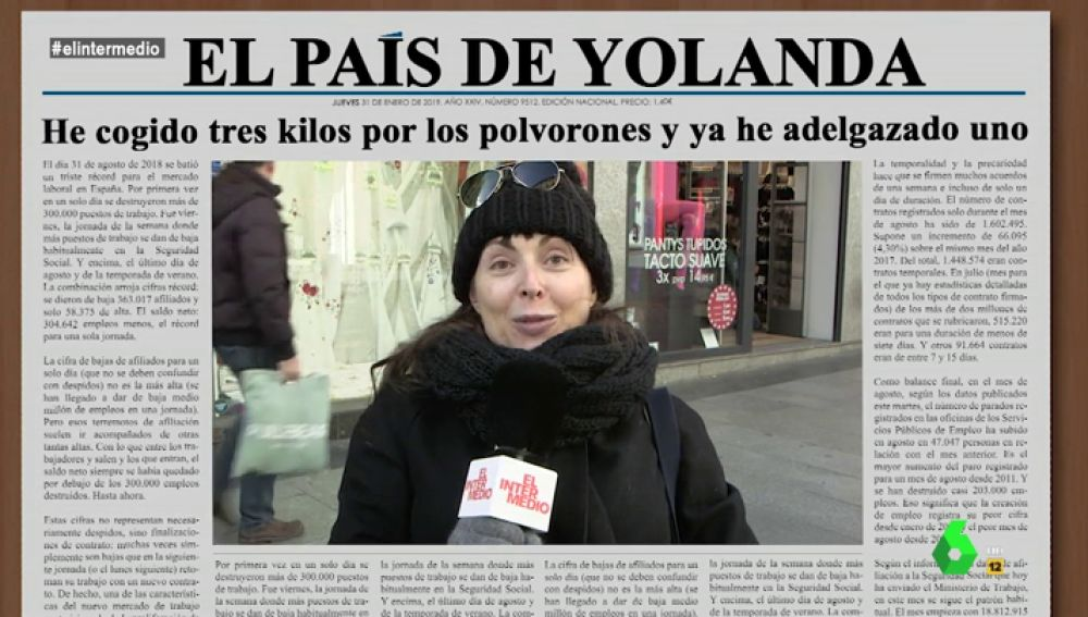 Yolanda, en El Intermedio