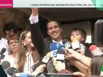Guaidó denuncia la entrada de la Policía en su casa y afirma que teme por la seguridad de su familia