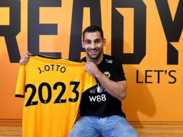 Jonny Otto, nuevo jugador del Wolverhampton
