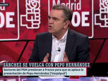 José Manuel Franco, secretario general del PSOE Madrid