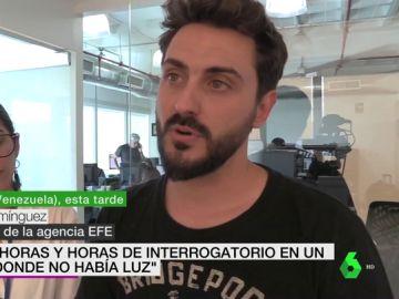 Gonzalo Domínguez, periodista español detenido en Venezuela
