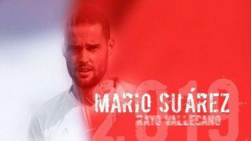Mario Suárez jugará en el Rayo Vallecano