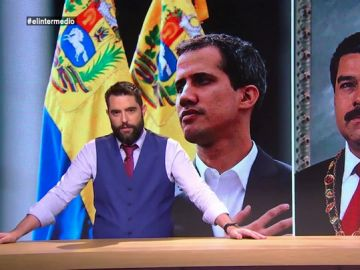 Los apoyos de los famosos a Juan Guaidó y Nicolás Maduro