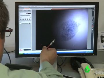 Análisis de una huella dactilar