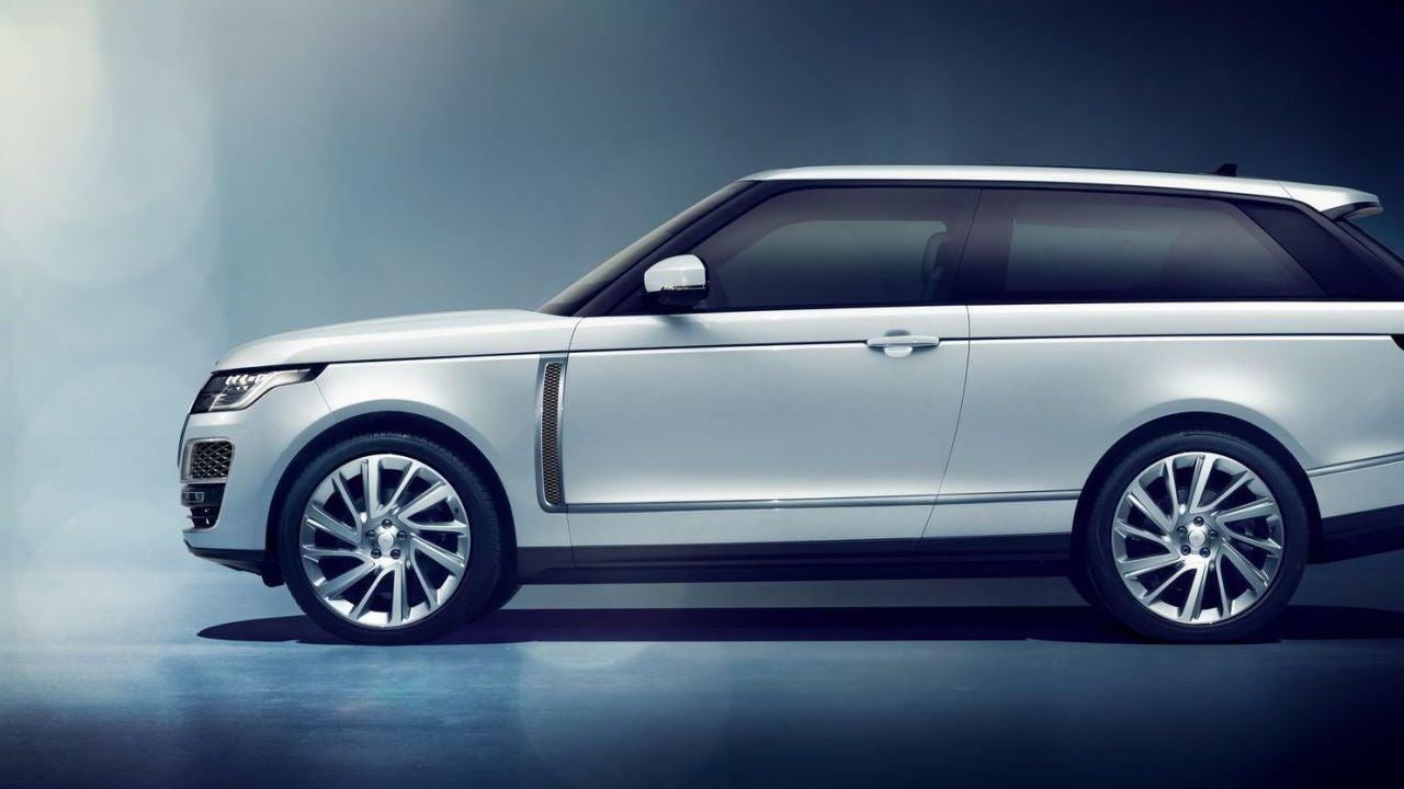 Land Rover suspende la fabricación del Range Rover SV Coupe