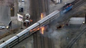 Chicago prende fuego a las vías para que no se congelen
