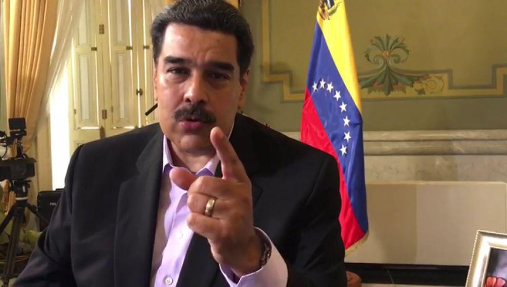 """Nicolás Maduro: """"Todos pendientes en España, vuelvo el domingo a Salvados en el segundo interrogatorio de Jordi Évole"""""""