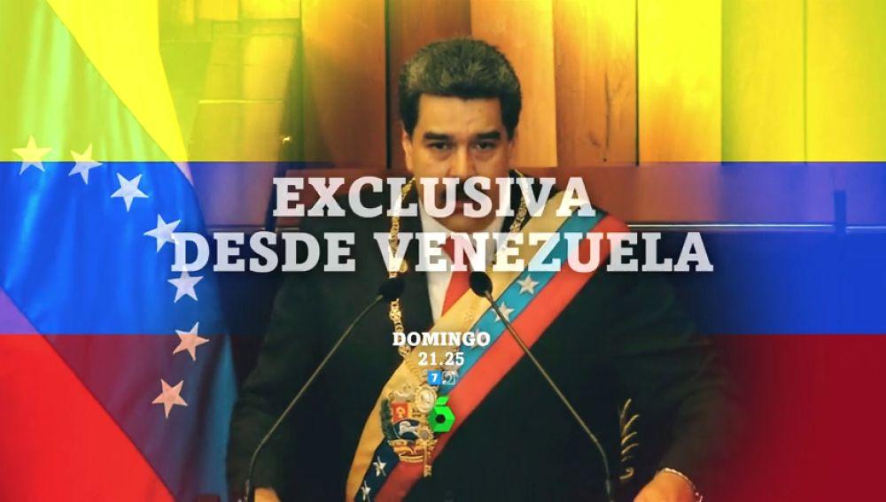 Jordi Évole entrevista en exclusiva a Nicolás Maduro en Caracas este domingo en el regreso de 'Salvados'