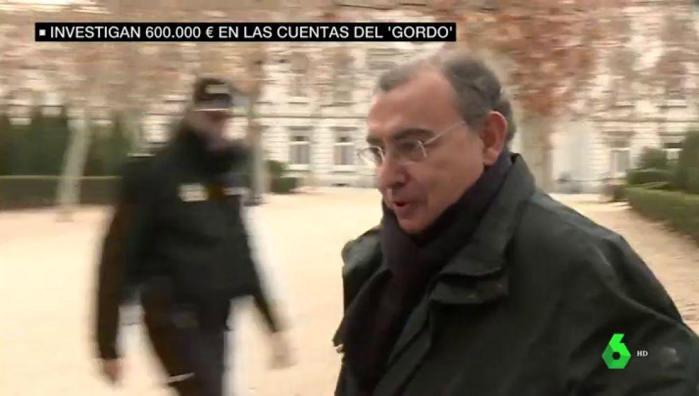 García Castaño afirma que 100.000 de los 600.000 euros hallados en sus cuentas son regalos de boda