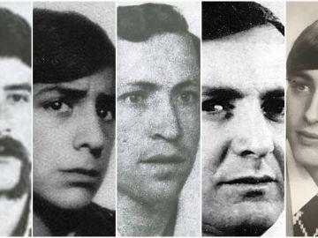 Las víctimas de la Matanza de Vitoria