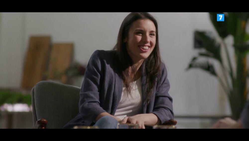 Irene Montero en Salvados