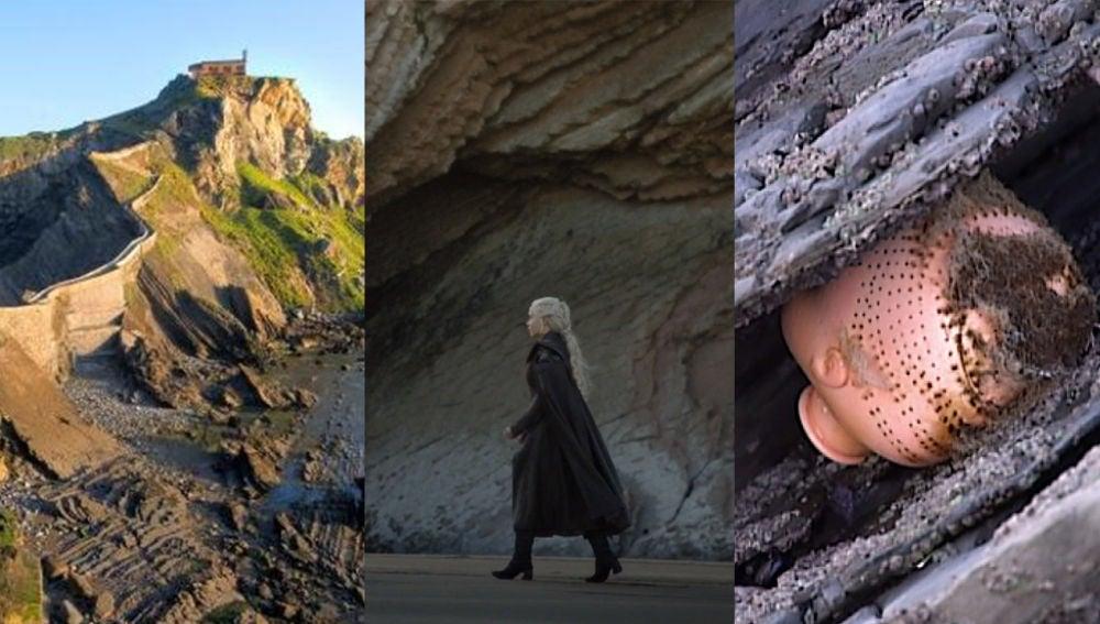 Rocadragón es la playa del Flysch en Zumaia, Euskadi