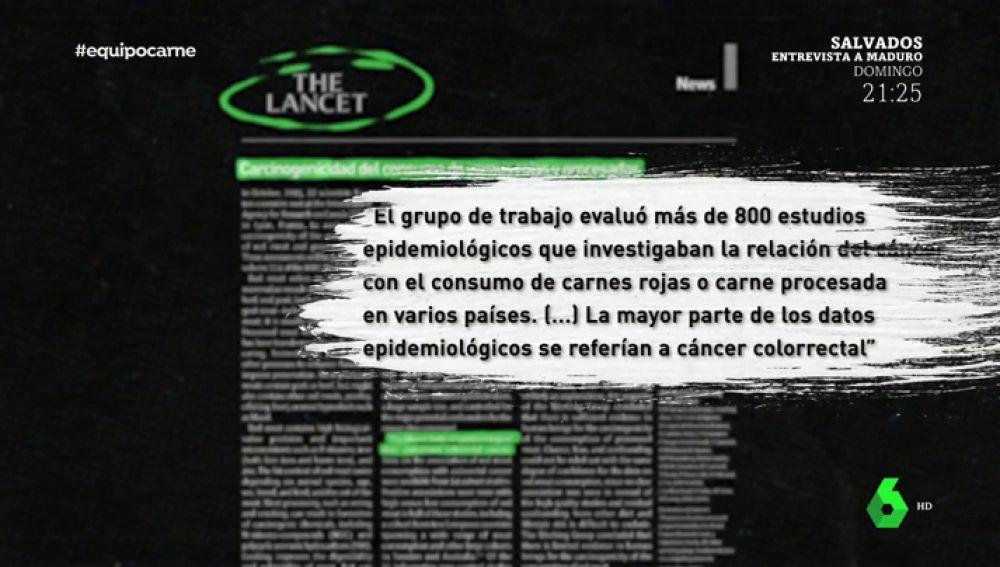 Publicación de The Lancet