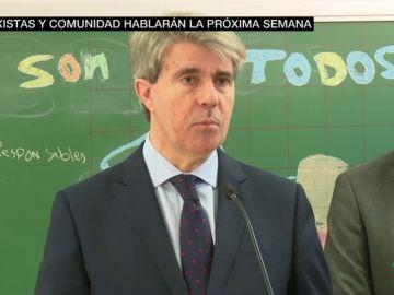 Ángel Garrido habla del conflicto del taxi