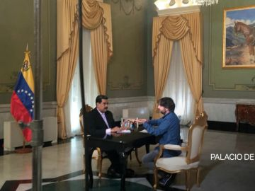Jordi Évole entrevista a Nicolás Maduro