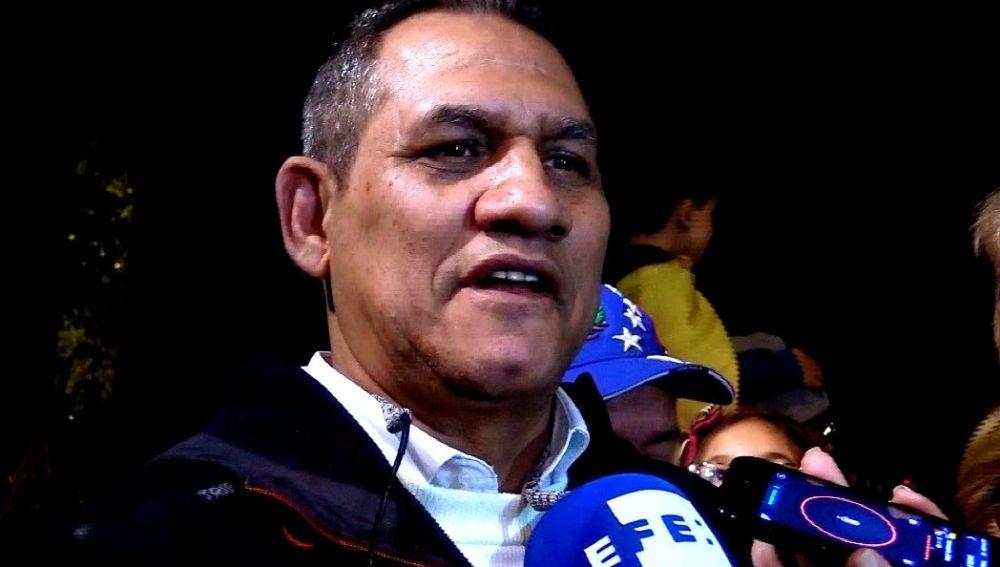 Imagen del padre de Guaidó
