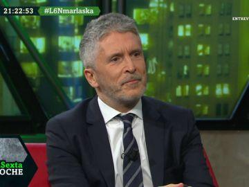 Fernando Grande-Marlaska, en laSexta Noche