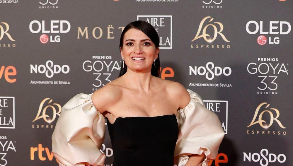 La presentadora de los Premios Goya 2019 Silvia Abril