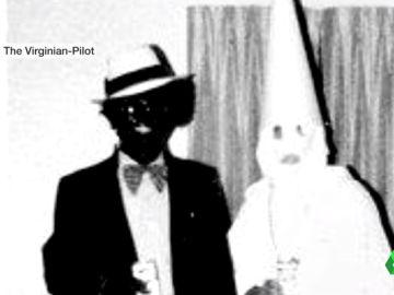 """El gobernador de Virgina se disculpa por una """"foto racista"""" en su época de universitario"""
