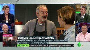Cristina Pardo entrevista a Arguiñano