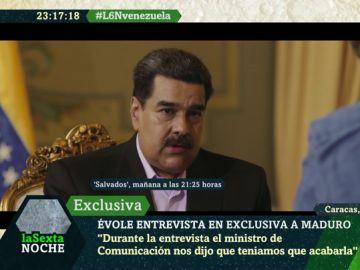 Nicolás Maduro, en Salvados